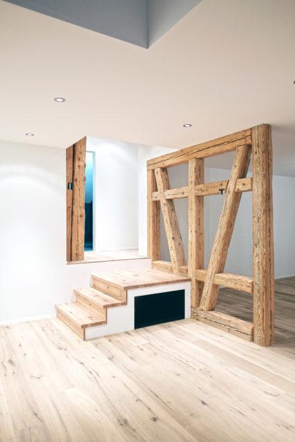 Ausbau Und Umnutzung Einer Scheune Zur Wohnung Hotz Partner